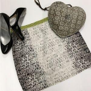Unique stitching pattern Rachel Roy mini Skirt